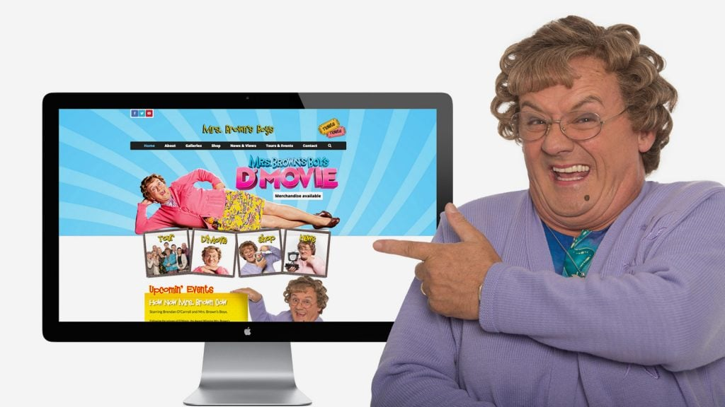 Mrs Brown's Boys Website